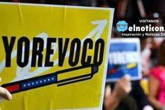 Aprueban el 1% de firmas en Venezuela para activar el referendo