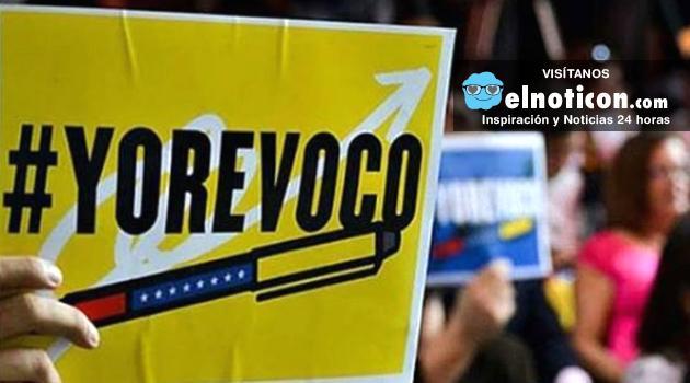 Aprueban firmas en Venezuela para activar el referendo
