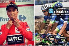 Vuelta España: Atapuma sigue de líder, Nairo es cuarto y Chaves quinto