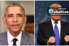 """""""Donald Trump no es apto para ser presidente de EE.UU."""" Barack Obama"""