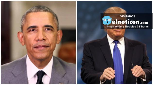 """""""Donald Trump no es apto para ser presidente de EE.UU"""" Barack Obama"""