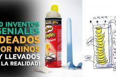 10 Inventos geniales ideados por niños y llevados a la realidad ¡Geniales!