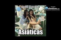 Selfie nivel: Asiáticas