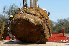 El meteorito gigante de 30 toneladas encontrado en Argentina y que es el segundo más grande jamás hallado