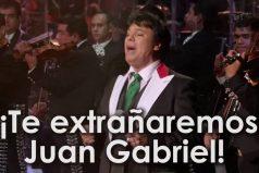 El homenaje al gran Juan Gabriel ¡Like si recuerdas sus canciones!