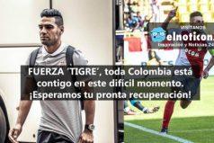 Falcao García continúa hospitalizado tras un golpe recibido en la cabeza ¡Toda Colombia te apoya!