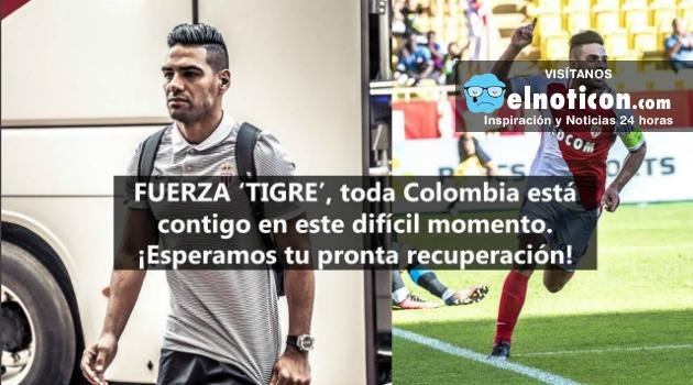 Falcao García continúa hospitalizado tras un golpe recibido en la cabeza