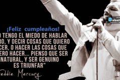 ¿Recuerdas a Freddie Mercury? ¡Gracias por tu música y Feliz cumple!