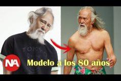 Conoce Deshun Wang, el hombre de 80 años que está causando sensación ¡Es considerado el más sexy!