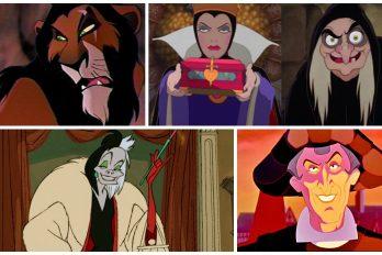 Los 7 villanos más famosos de Disney. ¿Los Recuerdas? ¡Amé a Úrsula!