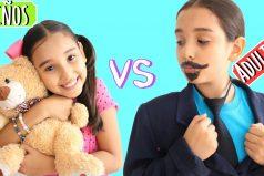Las locas diferencias entre los niños y los adultos ¡QUIERO SER PEQUE DE NUEVO!