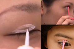 ¿Quieres tener los ojos más grandes? Mira esta técnica japonesa