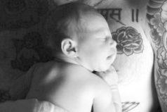 La primera foto de la hija de Adam Levine y Behati Prinsloo