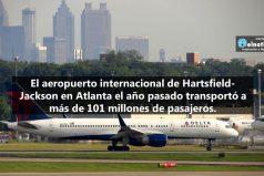 Sabe, ¿cuál es el aeropuerto con mayor tráfico de pasajeros del mundo?