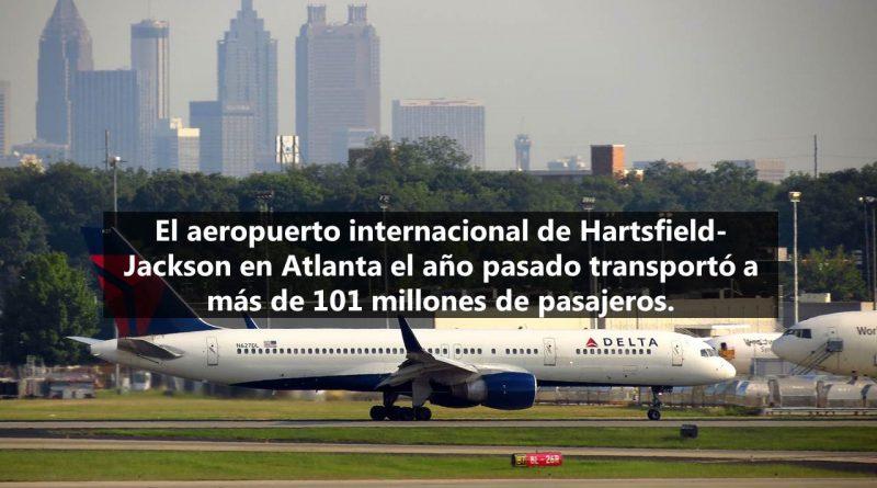 El aeropuerto con mayor tráfico de pasajeros del mundo