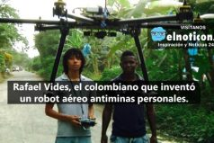 ¡Un invento 100 % colombiano que busca salvar la vida de soldados y civiles!