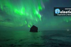 Este drone capta una espectacular aurora boreal en Islandia