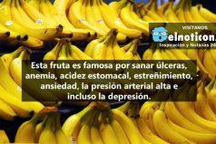 ¿Por qué deberías comer dos bananos al día? ¡Una fruta milagrosa!