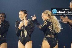 Bailarina de Beyoncé se compromete en pleno concierto [FOTOS + VIDEO]