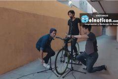 Estos jóvenes utilizaron una bicicleta como instrumento musical ¡Suena muy bien!
