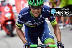 Esteban Chaves se jugará mañana el podio en la general ¡Toda Colombia te apoya!