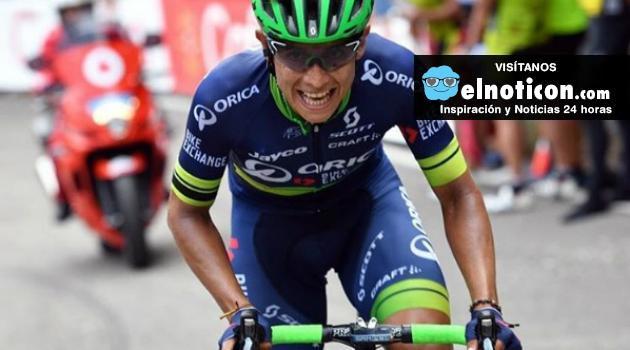 Esteban Chaves se jugará subir al podio general mañana ¡Toda Colombia te apoya!