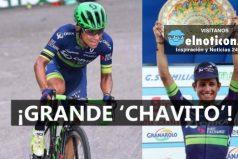 Un LIKE para el campeón del Giro dell'Emilia Esteban Chaves