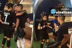 El gran gesto de Falcao García con el mexicano Javier 'Chicharito' Hernández