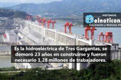 China construyó la represa más grande del mundo