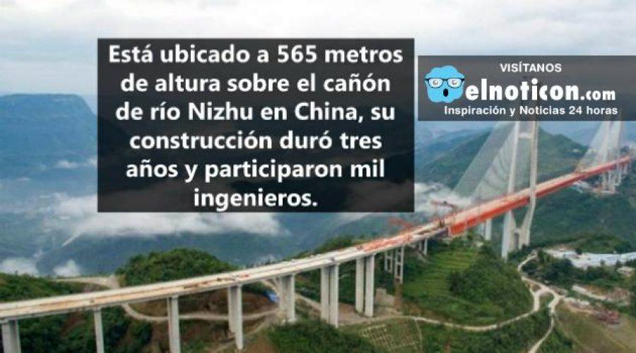Así es el puente más alto del mundo, está a punto de ser inaugurado
