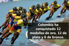 Colombia sigue triunfando en el Mundial de Patinaje en China