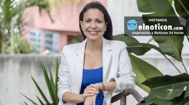 """""""Maduro debe irse este ano con o sin referendo"""" María Corina Machado"""