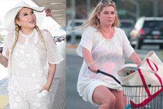 Kesha luce irreconocible por su aumento de peso