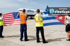 110 vuelos comerciales diarios empezaran a operar entre Estados Unidos y Cuba