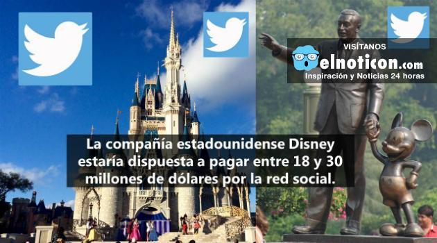 Disney estaría interesado en comprar Twitter
