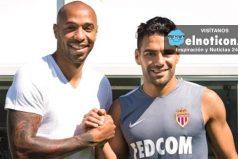 Falcao reapareció y ya se entrena con sus compañeros en el Mónaco ¡Vamos Tigre!
