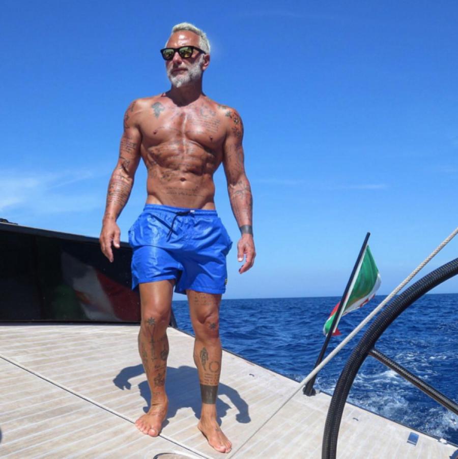 La sorprendente transformación de Gianluca Vacchi: El antes y el después