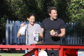 Jennifer Garner y Ben Affleck conviven como grandes amigos