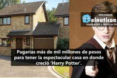 Ponen en venta la casa de 'Harry Potter' por una multimillonaria cifra