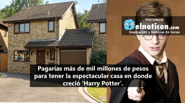 Ponen la venta la casa de 'Harry Potter' por una multimillonaria cifra