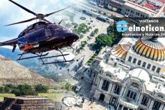 El nuevo servicio de 'taxi-helicóptero' en Ciudad de México