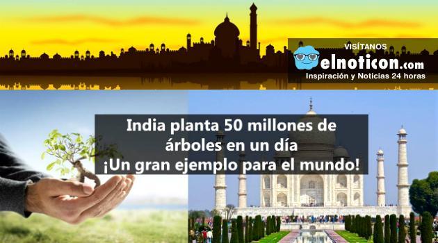 Récord mundial: India es un ejemplo de sostenibilidad y cuidado del medioambiente