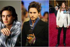 Jared Leto y sus cambios de look en 12 imágenes ¡Muy sexy y a la moda!