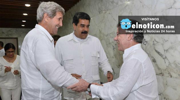 Nicolás Maduro y John Kerry se reunieron por primera vez