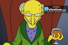 10 cosas que no sabías del Sr. Burns ¡En septiembre es su cumpleaños!