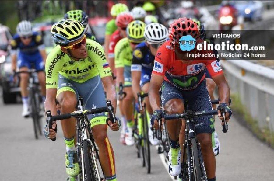 Nairo Quintana lleva en su corazón humildad y sencillez, así le agradeció a Alberto Contador