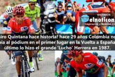 Nairo Quintana, campeón de la Vuelta a España ¡GRACIAS, ERES UN GANADOR!