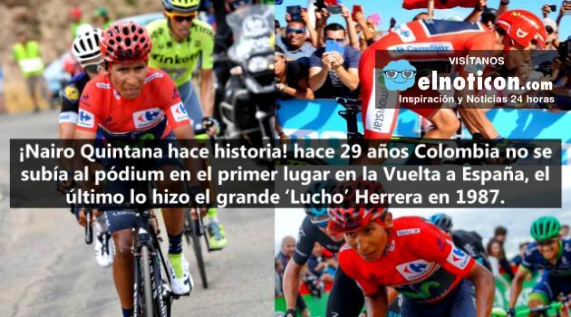 Nairo Quintana, el virtual campeón de la Vuelta a Espana