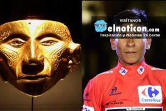 Compara a Nairo Quintana con máscara indígena ¡Nairo orgullo 100% colombiano!