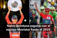 La buena noticia que recibió Nairo Quintana, el campeón de la Vuelta a España